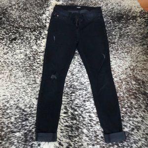 Hudson Black Denim Jeans